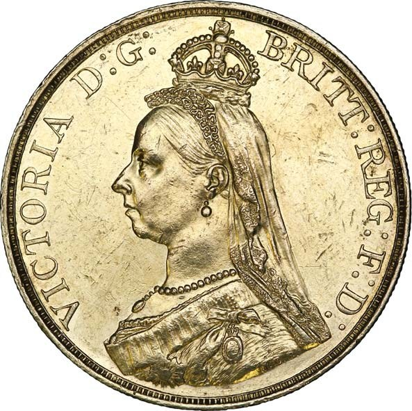 5 Pounds - Victoria (2nd portrait) - United Kingdom – Numista