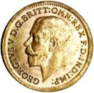 ⅓ Farthing - George V (Colonial issue) – obverse