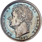 ½ Farthing - George IV (Colonial issues) – obverse