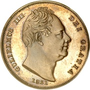1 Farthing - William IV -  obverse
