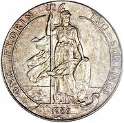 1 Florin - Edward VII -  reverse