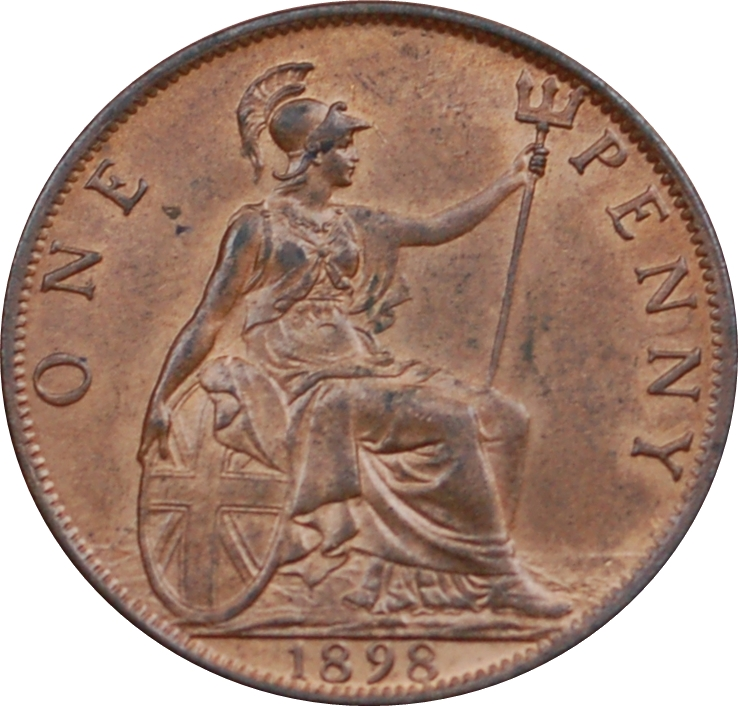 1 penny victoria 3rd portrait united kingdom numista for One penny homes