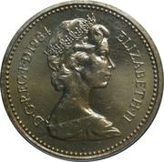 1 Pound - Elizabeth II (2nd portrait; Scottish Thistle) -  obverse