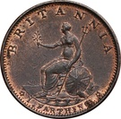 1 Farthing - George III (3rd issue) – reverse