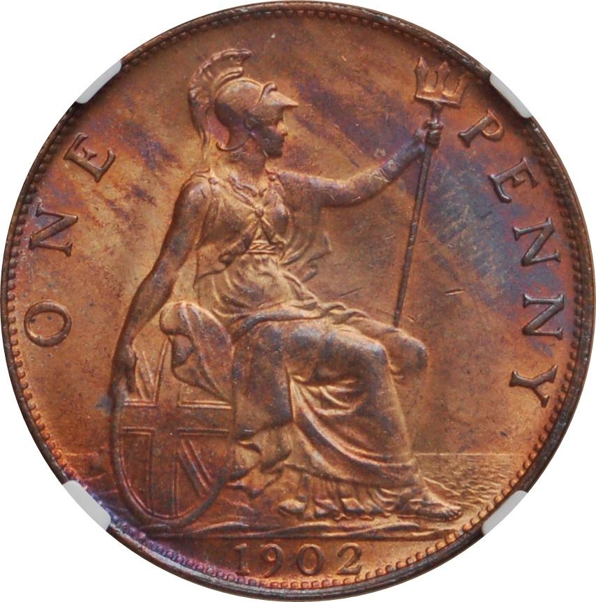 1 penny edward vii united kingdom numista for One penny homes