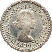 1 Penny - Elizabeth II (1st portrait; Maundy decimal) – obverse