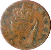 ½ Penny (Celestin II Pope - North Wales) -  reverse