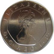 20 Pence - Elizabeth II (2nd portrait) -  obverse