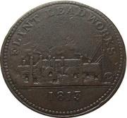 1 Penny (Flint Lead Works) – obverse