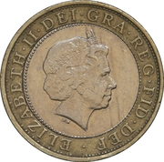 2 Pounds - Elizabeth II (4th portrait; Marconi Telegraph) -  obverse