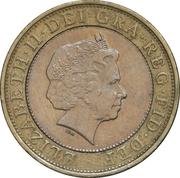 2 Pounds - Elizabeth II (4th portrait; Isambard K. Brunel) -  obverse