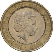 2 Pounds - Elizabeth II (4th portrait; Paddington Station) -  obverse