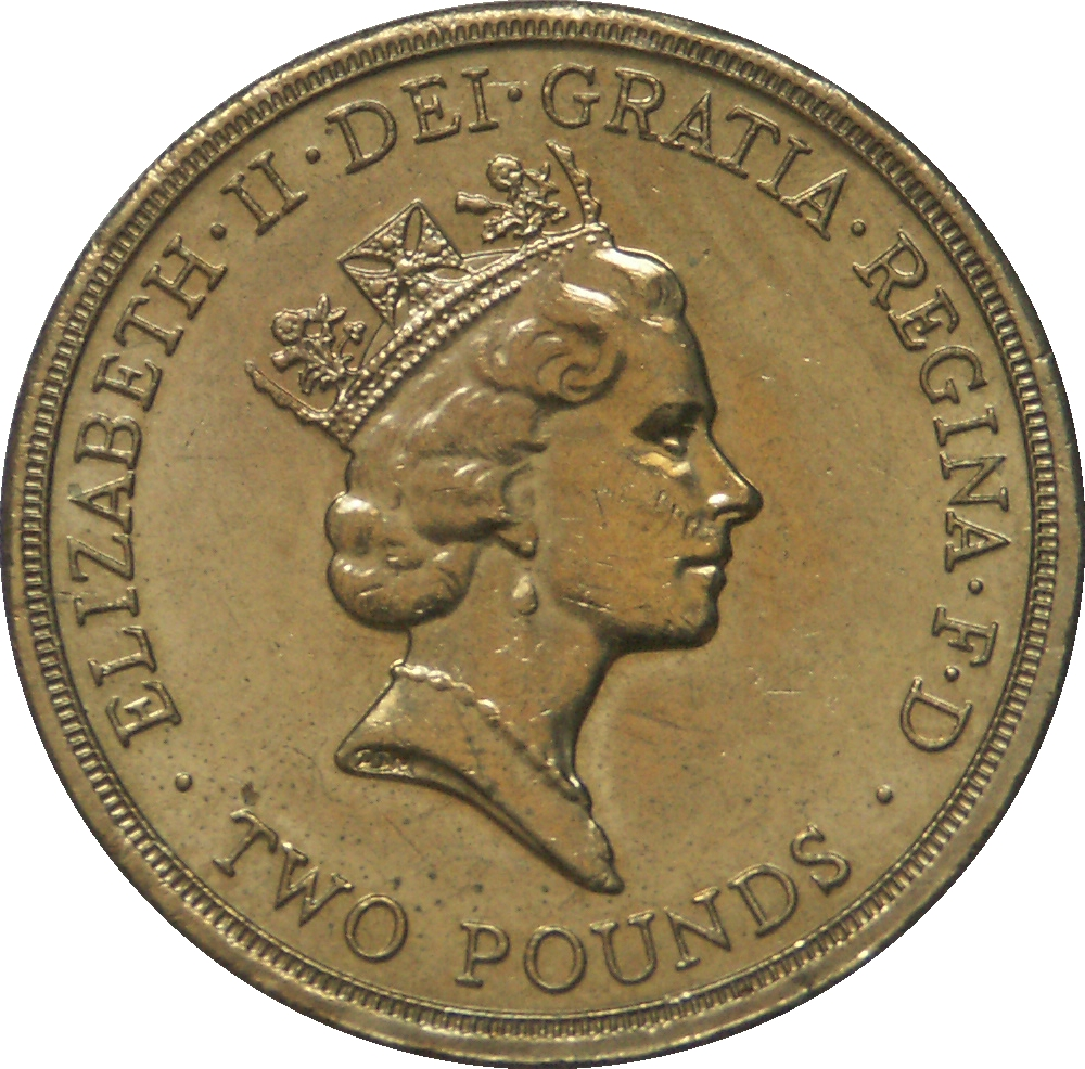 Coins for collectors Uncirculated British 1994 Tercentenary of the Bank of England Two Pounds /£2 Coin Great Britain