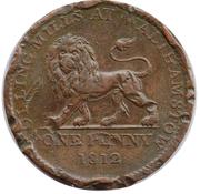 1 Penny (British Copper Company - Walthamstow/Landore) – obverse