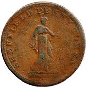 1 Penny (Yorkshire - Sheffield / Workhouse) – obverse