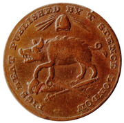 1 Farthing (Middlesex - T. Spence) -  reverse