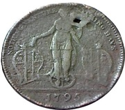 ½ Penny (Middlesex - Richardson's / Fortune) – obverse