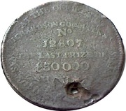 ½ Penny (Middlesex - Richardson's / Fortune) – reverse