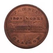 1 Penny (Lanarkshire - Glasgow / Phoenix Iron Works) – obverse