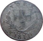 1 Shilling (Yorkshire - York / Cattle & Barber) – obverse