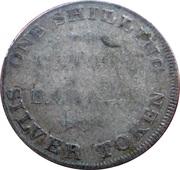 1 Shilling (Yorkshire - York / Cattle & Barber) – reverse