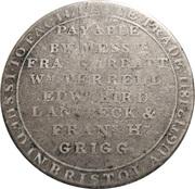 1 Shilling (Somersetshire - Bristol / To Facilitate Trade) – reverse