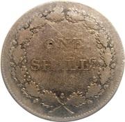 1 Shilling (Staffordshire - Fazeley / Peels, Harding & Co) – reverse