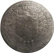 1 Shilling (Staffordshire - Fazeley / Peels, Harding & Co) – obverse