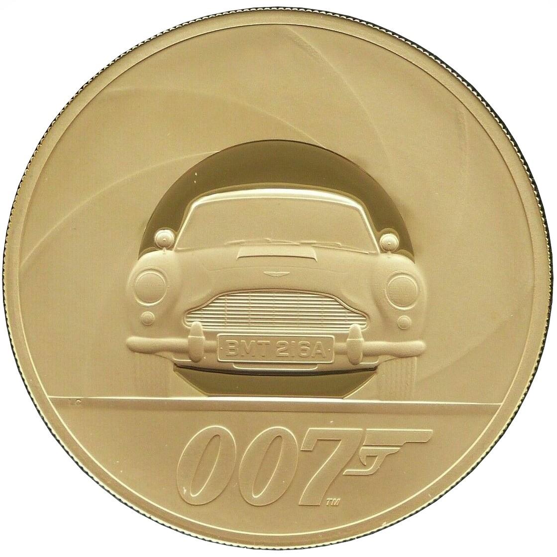 Elizabeth II (7 Kg Fine Gold; James Bond