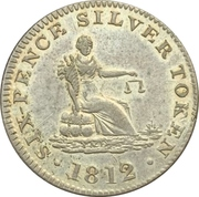 6 Pence (Cheshire - Stockport / T.Cartwright) – reverse