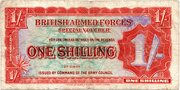1 Shilling - British Armed Forces (2nd series) – obverse