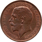 1 Penny - George V -  obverse