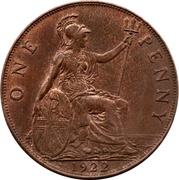1 Penny - George V -  reverse