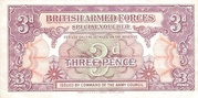 3 Pence - British Armed Forces (1st series) – obverse