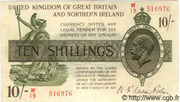 10 Shillings - George V (Treasury issue; with N. Ireland) – obverse