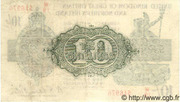 10 Shillings - George V (Treasury issue; with N. Ireland) -  reverse