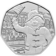 50 Pence - Elizabeth II (5th portrait; Paddington at the Palace) -  reverse