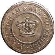1 Penny (Birmingham & Warwickshire) – obverse
