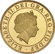 2 Pounds - Elizabeth II (Marconi Telegraph; Gold Proof) -  obverse