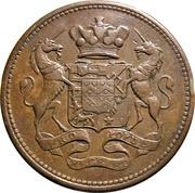 1 Penny (Cornwall - Cornish Mines) – obverse