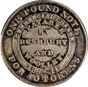 6 Pence (Staffordshire - Bilston / Rushbury & Woolley) – reverse
