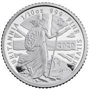 20 Pence - Elizabeth II (5th portrait; 1/10 oz Fine Silver) – reverse