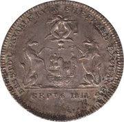 6 Pence (Somersetshire - Bristol / W. Sheppard) – obverse