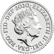 5 Pence - Elizabeth II (5th portrait; Royal Shield) -  obverse