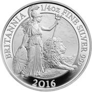 50 Pence - Elizabeth II (5th portrait; 1/4 oz Fine Silver) – reverse