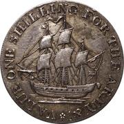 1 Shilling (Somersetshire - Bristol Quay / Army &c) – obverse
