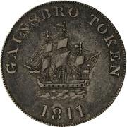 1 Shilling (Lincolnshire - Gainsborough / S. Sandars) – obverse