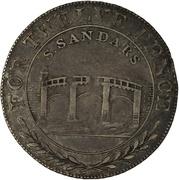 1 Shilling (Lincolnshire - Gainsborough / S. Sandars) – reverse