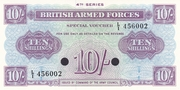 10 Shillings - British Armed Forces (4th Series) – obverse