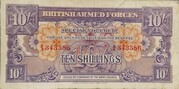 10 Shillings - British Armed Forces (1st Series) – obverse